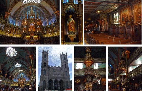 Notre Dame de Montreal interior image