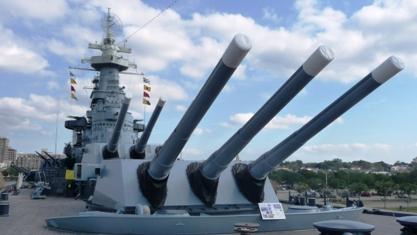 USS North Carolina, Wilmington